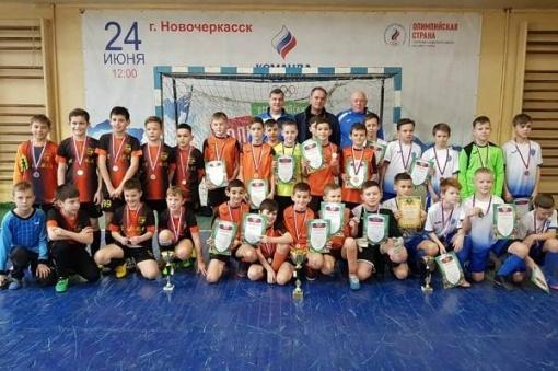 Областной Рождественский турнир г.Новочеркасска по мини-футболу среди детей