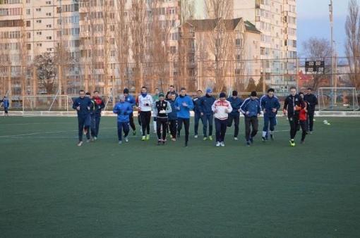 «Волгодонск-2019» провел первую тренировку