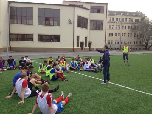 Главный тренер ФК «СКА-ДГТУ» Камил Байрамов: Будем готовить ребят к игре за основной состав